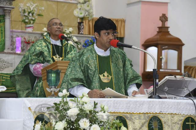 Mass for the repose soul of Late Bp Basil S DSouza