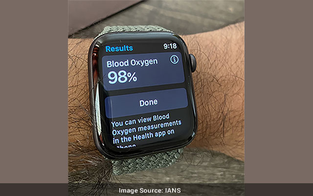 Apple Watch Series 6 oximeter reliable for lung disease patients Study