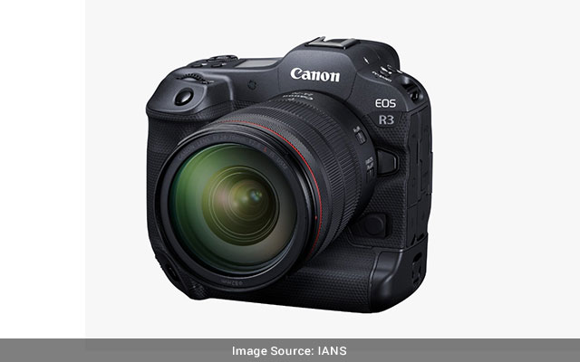 EOS R3 by Canon is in India at Rs 499995