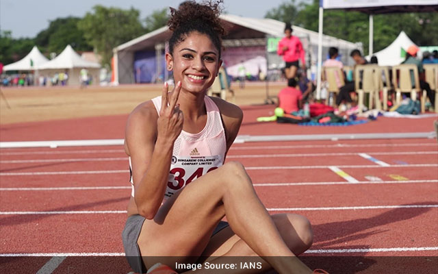 Harmilan Kaur Bains B Aishwarya claim golden doubles in National Open Athletics