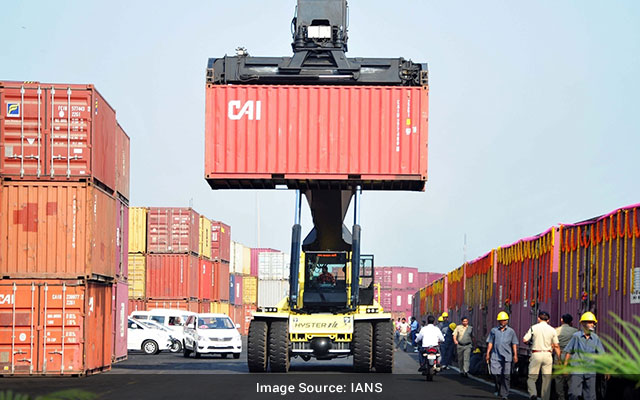 Indias August exports imports rise YoY