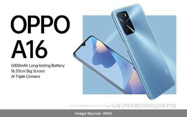 OPPO-A16-with-5000mAh-battery-AI-triple-camera-launched-in-India