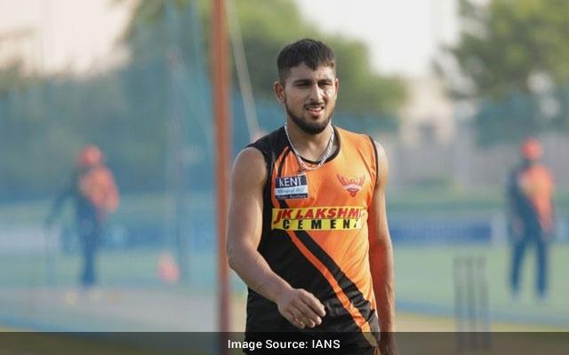 Umran Malik joins SRH as Covid19 replacement for Natarajan