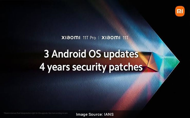 Xiaomi 11T series to get 4 years of security updates